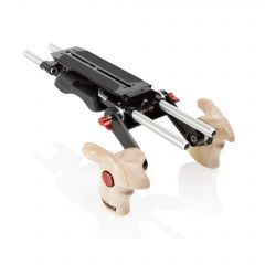 Shape Revolt VCT baseplate (BP10) with wooden handle grip - BPW14