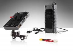 Shape SHAPE d-box camera power and charger for Blackmagic Ursa Mini, Ursa Mini pro - BXBUM
