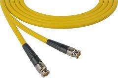 TecNec CB-CB-75-YW Premium BNC to BNC Video Cable 75ft Yellow