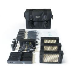 Cineroid LM200 On-Camera LED Light Kit (Set of 3)