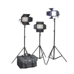 Cineroid LM400-VCe Location LED Light (Set of 3)