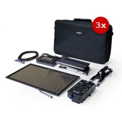 Cineroid ML800 Metal LED Light (Set of 3, No Battery Mount)