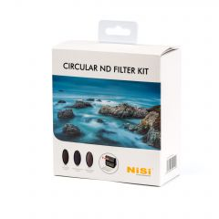 NiSi 82mm Circular ND Filter Kit - NIR-CNDKIT-82