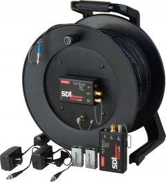 Camplex CMX-TACNGO-SDI   3G SDI Fiber Optic Converter / Extender & Tactical Cable Reel System - 1000 Foot