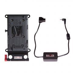 Shape Panasonic Au-Eva1, Sony FS7, FS5 V-mount cheese plate - CPVEVA