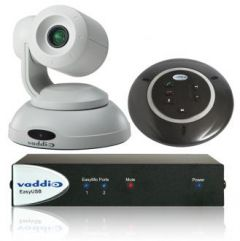 Vaddio 999-9999-130W ClearSHOT Conference Bundle - White Camera