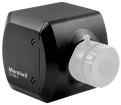 Marshall Electronics CV344 Marshall  Compact HD Camera (3G/HD-SDI) - RS485 Adjustable and Audio - with CS Lens Mount (sold separately)