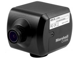 Marshall Electronics CV506 Marshall  Miniature HD Camera for video capture (HDMI 3G/HD-SDI) with Lens - RS485 Adjustable & Audio Embedding