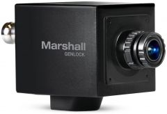 Marshall Electronics CV565-MGB Marshall  MINI Genlock Broadcast Camera 2.5MP with Tri-Level Sync ability in 1080p59.94/50 1080i59.94 720p59.94