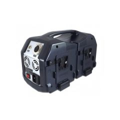 Blueshape CVS4X V-mount battery lunchbox charger. Does 2...