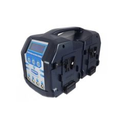 Blueshape CVS8X V-mount battery lunchbox charger. Charges 4...