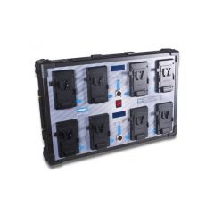 Blueshape CVS8XW Studio wall charger V-mount batteries. Charges...