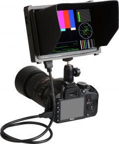 Delvcam Monitor Systems DELV-HD7-HSC Delvcam  1920x1200 7-Inch HD LCD Monitor with HDMI/SDI Cross Conversion & Waveform