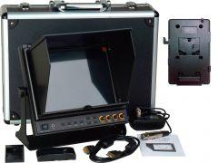 Delvcam Monitor Systems DELV-SDI-10-VM Delvcam 9.7in. SDI Monitor - Dual HDMI Input & 1 HDMI Output & V-Mount Battery Plate