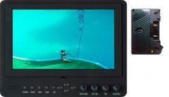 Delvcam Monitor Systems DELV-SDI-7-AB Delvcam Advanced Function 7-Inch 3G-SDI Camera-Top LED Monitor & Anton Bauer Battery Plate