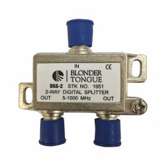 Blonder Tongue DGS-2 2-Way Digital Ready Splitter