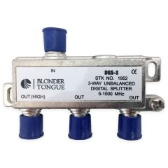 Blonder Tongue DGS-3 3-Way Digital Ready Splitter