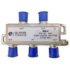 Blonder Tongue DGS-4 4-Way Digital Ready Splitter