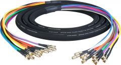 Laird Digital Cinema DIN-10SNK-5 Laird  Gepco VS10230 3G/HD-SDI 10-Channel DIN 1.0/2.3 Video Snake Cable - 5 Foot