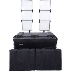 Dracast S-Series Bi-Color LED1500 Foldable 2-Light Kit w/ Hard Case