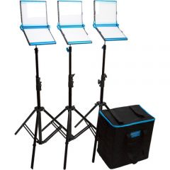Dracast S-Series Bi-Color LED1000 Foldable 3-Light Kit with Nylon Case
