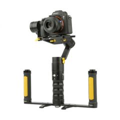 Ikan DS2-A-DGH-KIT DS2-A Dual Grip Handle Gimbal Kitfor DSLR &...