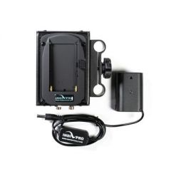 Indipro Tools DSLPAN Dual Sony L-Series Power System to Panasonic DMW-BLF19 Dummy Battery (12V Output)