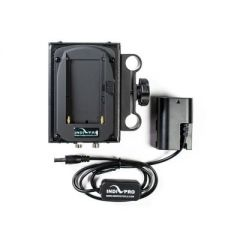 Indipro Tools DSLPE6 Dual Sony L-Series Power System to Canon LP-E6 Dummy Battery (12V Output)