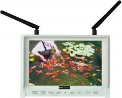 Delvcam Monitor Systems DUALFPV-7PL Delvcam  7 Inch FPV Monitor with Dual 5.8GHz Channel Auto Searching Function