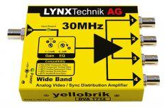 Lynx Yellobrik Wide Band Analog Video / Sync Disctribution Amplifier - DVA-1714