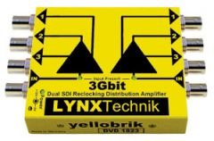Lynx Yellobrik Dual Channel 1>3 SDI Distribution Amp (up to 3GBit/s)