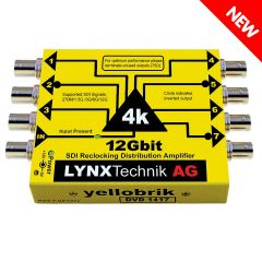 Lynx Yellobrik DVD-1417 12G 1>7 SDI Distribution Amplifier