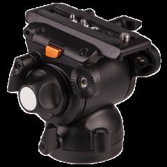 E-Image GH03F Flat Base Pro Fluid Video Head 11 lbs max ()