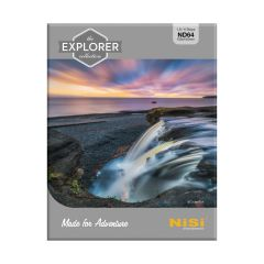 NiSi Explorer Collection 100x100mm Nano IR Neutral Density filter - ND64 (1.8) - 6 Stop - NIP-100-EXPL-ND1.8