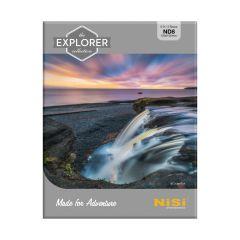 NiSi Explorer Collection 100x100mm Nano IR Neutral Density filter - ND8 (0.9) - 3 Stop - NIP-100-EXPL-ND0.9