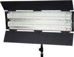 Flolight 2-Tube Lightweight Non-dimmable Flourescent Fixture with 5400K Daylight Tubes Included FL-110HMD