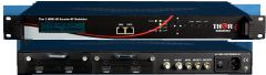 Thor 2Ch HDMI to DVB-T Encoder Modulator w/ Low Latency & IPTV Streamer - H-2HDMI-DVBT-IPLL