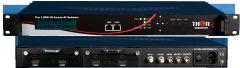 Thor 2Ch HDMI to QAM Encoder Modulator w/ Low Latency & IPTV Streamer - H-2HDMI-QAM-IPLL