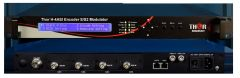 Thor 4Ch ASI to DVB-S2 Satellite Encoder Modulator - H-4ASI-DVBS2