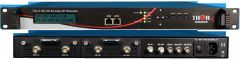 Thor 4Ch HD-SDI to QAM Encoder Modulator w/ Low Latency & IPTV Streamer - H-4SDI-QAM-IPLL