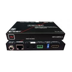 Avenview HBT2-C6BPOC-S 4K@60 HDMI HDBaseT CAT5/6/7 Extender Set...