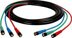 Laird Digital Cinema HD3BNC-75 Laird  Canare V3-4CFB RG59 3-Channel 3G-SDI BNC Video Snake Cable - 75 Foot