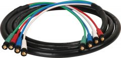 Laird Digital Cinema HD4BNC-25 Laird Canare V5-4CFB RG59 4-Channel 3G-SDI BNC Video Snake Cable - 25 Foot