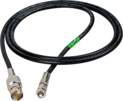 Laird Digital Cinema HDBNC1695-BF15 Laird Belden 1695A Plenum RG6 HD-BNC Male to BNC Female 6G/HD-SDI Cable - 15 Foot