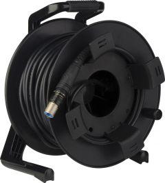 Camplex HF-TROC2PUW-0500  opticalCON DUO to LEMO PUW SMPTE 311 SM Fiber Optic Reel 500 Foot