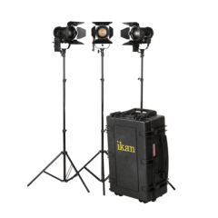 Ikan HF40 Helia 40 Watt Bi-Color LED Fresnel Light