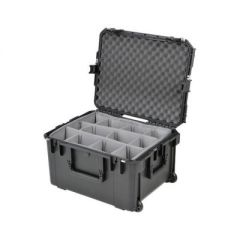 Hive Lighting HORNET 200-C 2 Light Hard Rolling Case with Padded Dividers