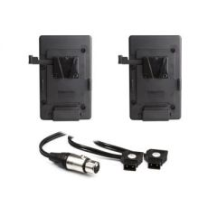 Hive Lighting Hornet 200-C Dual V-Mount Battery Plate Kit with Y-Cable