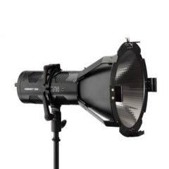 Hive Lighting HLS2C-PS  Hornet 200-C Par Spot Omni-Color LED Light with Barndoors and Power Supply