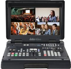 DataVideo HS-1600T-3C140TM 4-Channel HD/SD HDBaseT Portable...